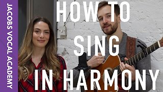 How To Sing In Harmony with O&O - Video