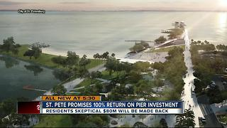 St. Pete Pier promises immediate return on investment, says new report - Video