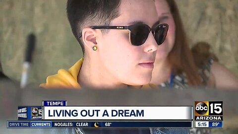 Tempe officers help Valley teen with traumatic brain injury live out her dream