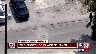 Winter Haven police investigating two shootings in same area