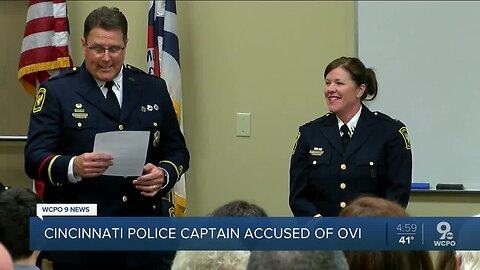 Cincinnati Police captain arrested for OVI in Loveland