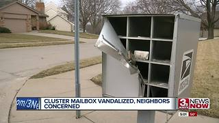 Mailbox vandalized, concerns neighbors - Video