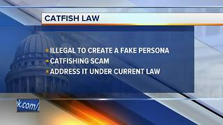 Draft Wisconsin law would target online 'catfishing' scams - Video