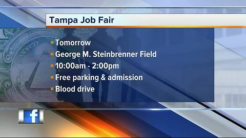 Hundreds of jobs available at Tampa career fair