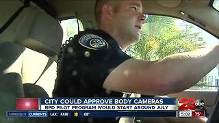 City could approve body cameras - Video