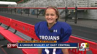 A unique rivalry at East Central High School - Video