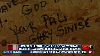 Actor Building Home For Local Veteran