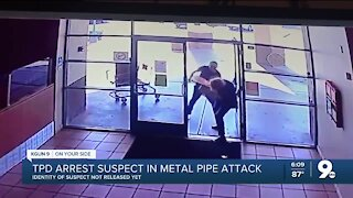 TPD arrests man who attacked elderly woman with metal pipe during robbery