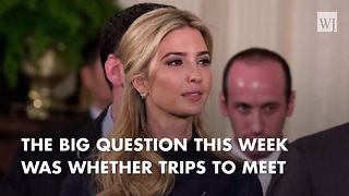Ivanka Pushes For Expanded Family Leave During Capitol Hill Meetings - Video