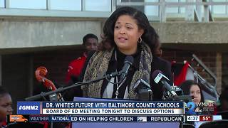 Baltimore Co. School Board to vote on giving interim superintendent another term - Video