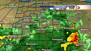 T'Storms return tonight. Cooler/dry weekend. - Video