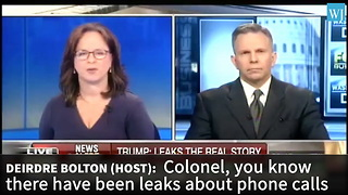 Former CIA Official Just Made Bold Accusation On Flynn Phone Call Leaks - Video