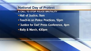 Demonstrations being held in San Diego against police brutality