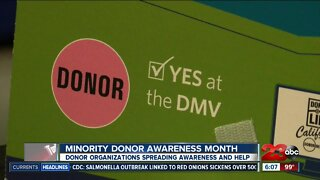 National minority donate awareness month spreads information about organ donations