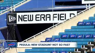 New stadium talk? Not so fast, says Terry Pegula - Video