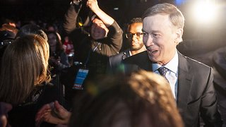 Hickenlooper Says Pot Use Didn't 'Spike' After Colorado Legalization