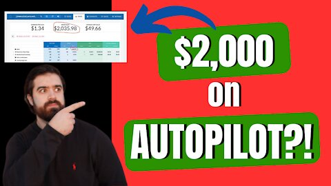 How to Make $2000 on Autopilot with This Viral Funnel!! (Passive Income)
