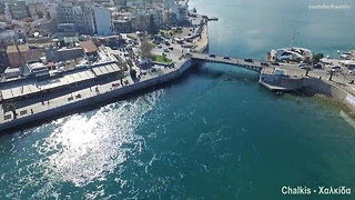 "Rare drone footage of the city with the ""crazy"" waters - Video"