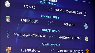 Champions League Manchester City Draws Tottenham