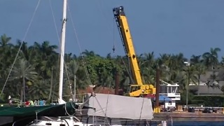 Preparing for the 4th on Flagler - Video