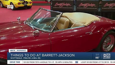 Things to do at Barrett-Jackson without spending big bucks