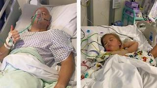 Father Donates Kidney To Save Daughter's Life - Video