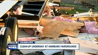 Efforts continue at Hamburg Fairgrounds - Video