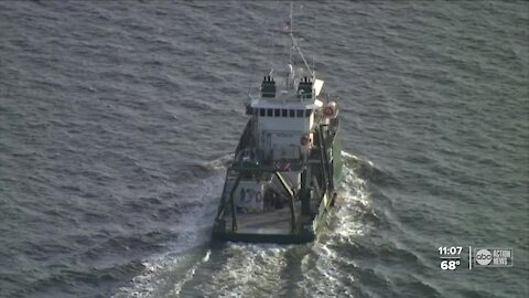 Scientists studying water quality after Piney Point leak