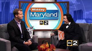 Edgar Allen Poe Visits Midday Maryland! - Video