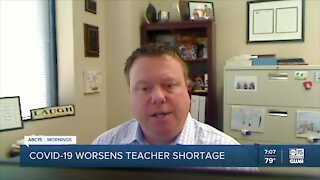 COVID-19 pandemic worsens teacher shortage in Arizona