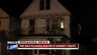 Two people dead after shooting in University Heights
