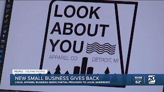 New small business in metro Detroit sends proceeds to local nonprofit