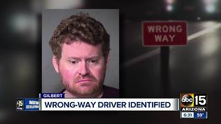 East Valley wrong-way driver identified - Video
