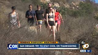 Staying cool on Thanksgiving - Video