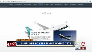 U.S. airlines continue to fly Boeing 737 Max 8 planes