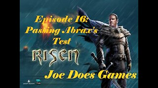 Let's Play: Risen | Ep16: Passing Abrax's Test | Joe Does Games