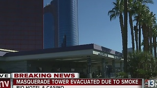 UPDATE: Rio hotel-casino tower evacuated, power out