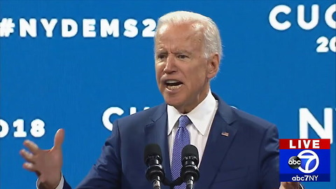 Joe Biden Attacks Republicans for 'Hurting' Americans With 'Fake Nationalism'