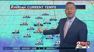 Chilly Wednesday morning forecast