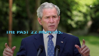 Poll Shows George W. Bush Gaining On Obama In Popularity - Video