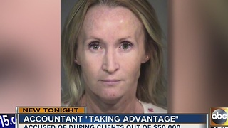Valley woman accused of scamming elderly out of $50K - Video