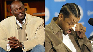 Michael Jordan THREW Allen Iverson's Sneakers in the TRASH! - Video