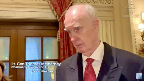General Thomas McInerney talks about Nancy Pelosi's laptop and Mike Pence's treason