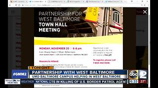 Partnership with West Baltimore meeting Monday - Video