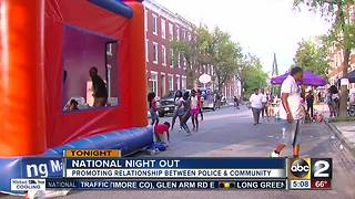 National Night Out promotes relationship between police, community on August 1 - Video