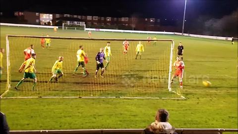 Man misses open goal from three yards out