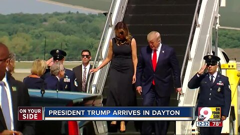President Trump visits Dayton, El Paso today after mass shootings