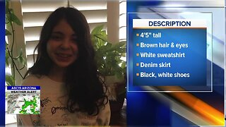 DPS: Autistic teen, Alicia Navarro, reported missing from Glendale