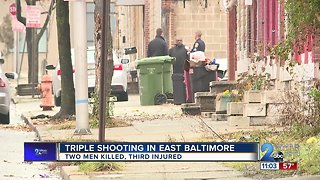 Two Killed In East Baltimore Triple Shooting