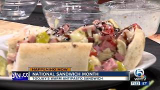 National Sandwich Month with TooJay's